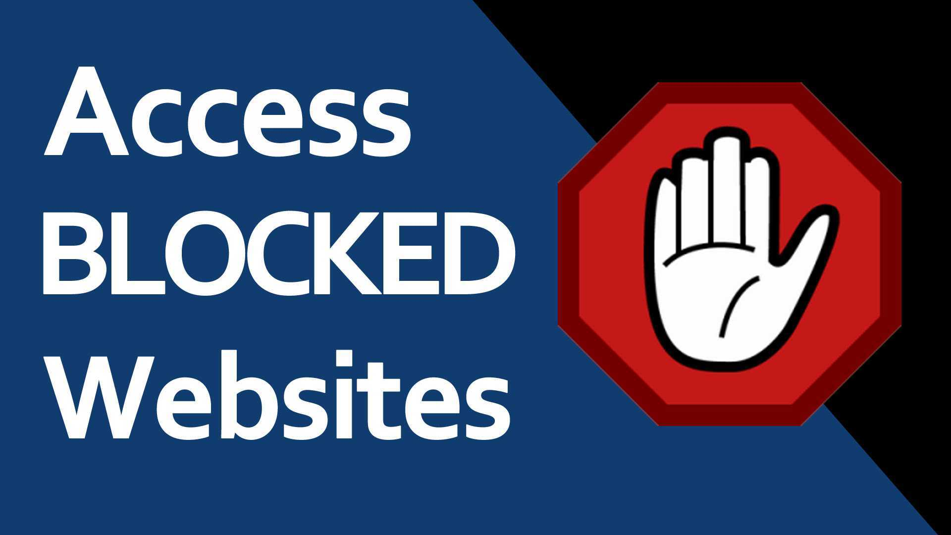 Access to this website has been blocked