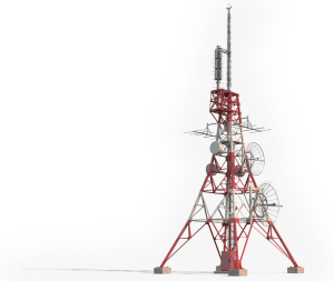 Broadband tower
